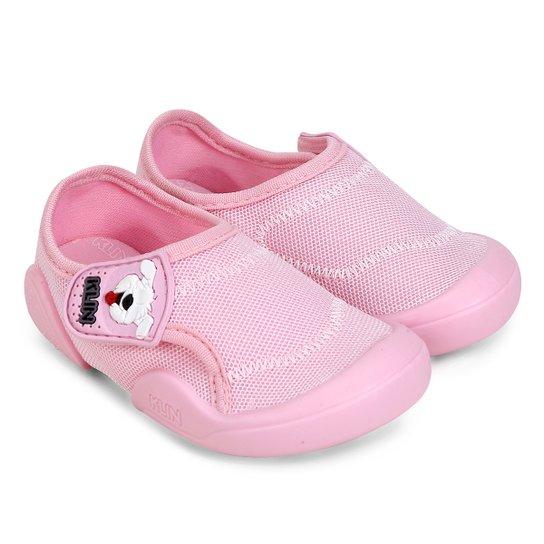 759a9db08e Sapato Bebê Klin New Confort - Rosa Bebê