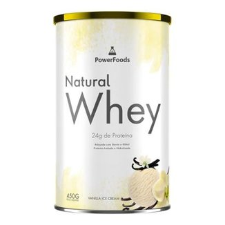 Natural Whey - 450g - PowerFoods