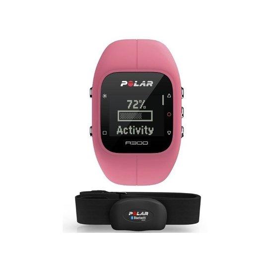 11471d5e4 Relogio Monitor Cardiaco Polar A300 Bluetooth Cinta H7 - Rosa - Rosa