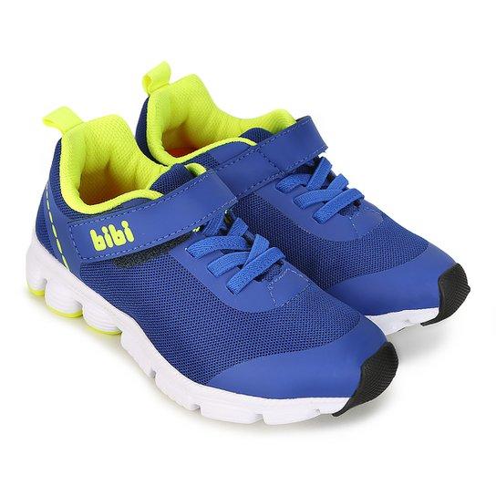 d3417064167 Tênis Infantil Bibi Icon Baby Masculino - Azul e Verde - Compre ...