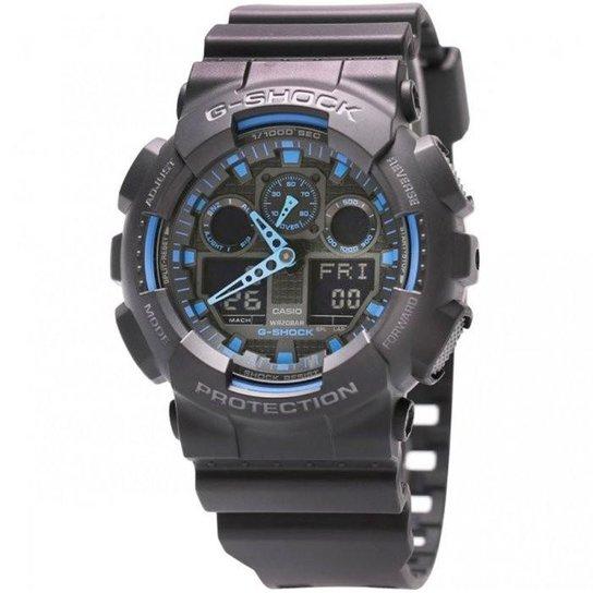 a3ac0337e96 Relógio Casio G-Shock GA-100-1A2DR - Compre Agora