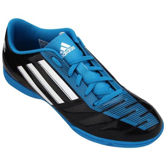 size 40 6cc29 0eaa7 Chuteira Adidas Taqueiro IN - Preto+Azul