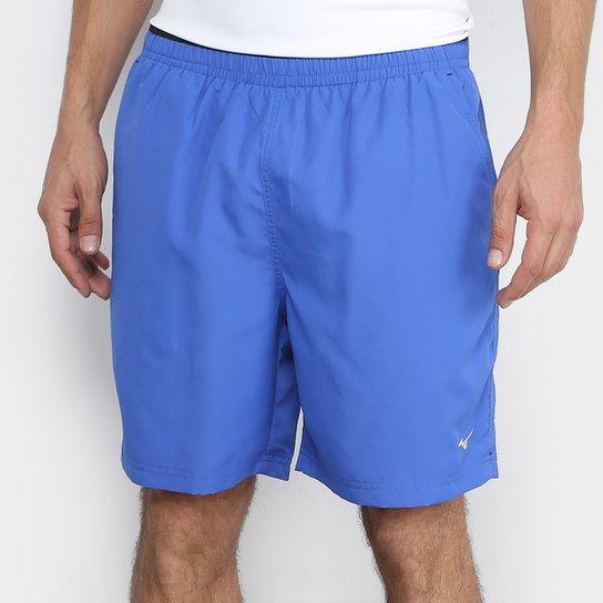 Bermuda Mizuno Master Fitness Masculina - Preto e Azul - Compre ... d0ef92fa24a54