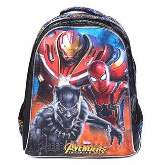 f5097865266 Mochila Escolar Infantil Xeryus Avengers Armored