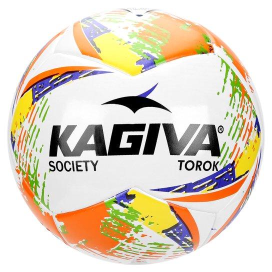 d1bf3a0ff8 Bola Kagiva Torok Society - Branco+Laranja