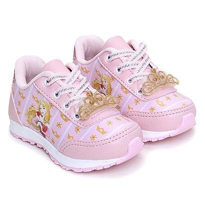 Tênis Infantil Disney Jogging Aurora Feminino