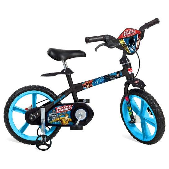 b672bce1e Bicicleta Infantil Aro 14 Bandeirante Liga Da Justiça - Compre Agora ...