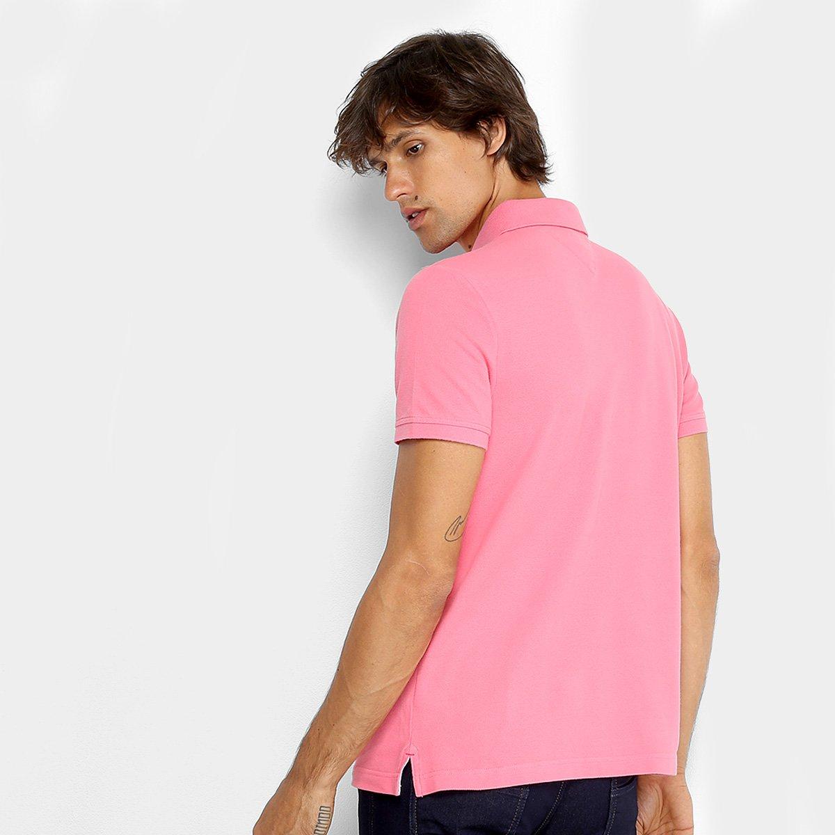 5ea4cd813b Camisa Polo Tommy Hilfiger Básica Masculina