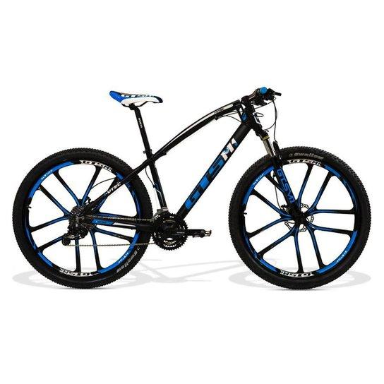 1d9d2d4ba Bicicleta GTS Aro 29 Freio a Disco Hidráulico Câmbio Absolute 27 Marchas e  Amortecedor e Rodas