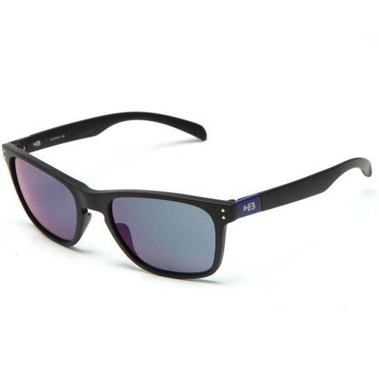 Óculos de Sol HB Gipps II - Preto e Azul - Compre Agora   Netshoes e39b1f67ec