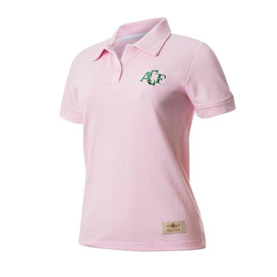 Camisa Polo Feminina Retrô Gol Chapecoense Rosa - Compre Agora ... 17738a6cd6366