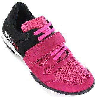 34b831bd0 Tenis Para Crossfit E Lpo Em Couro Pink E Preto -