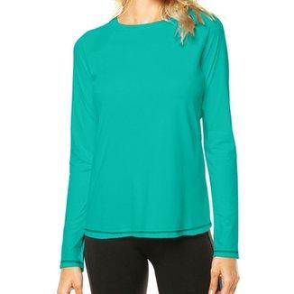 Camisa Térmica Camisa da Latinha com Proteção Solar UV50+ Feminina 6378199b51252
