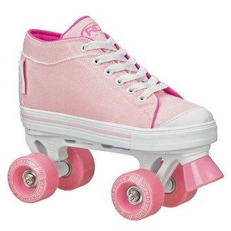 c64236990 Patins Infantil Quad Roller Derby Zinger Girl F17