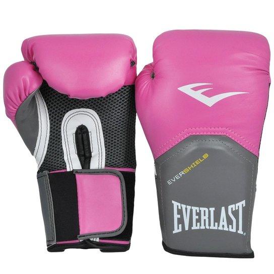 91e930358 Luva Boxe Everlast Pro Style Elite Training 14 Oz - Rosa