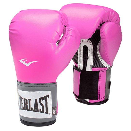 3a1428b7c ... Kit Muay Thai Training Everlast Luva Bucal Bandagem e Bolsa Vollke -  Rosa