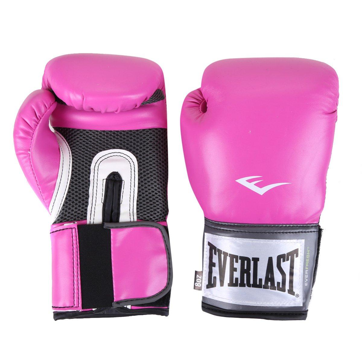 Luva De Boxe/ Muay Thai Everlast Pro Style 8 Oz