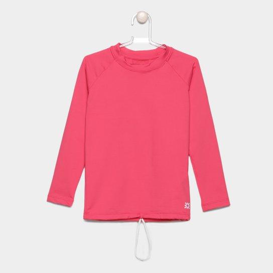 Camiseta Infantil Uv. Line Lisa Manga Longa Feminina - Compre Agora ... e0c72d043e3b1