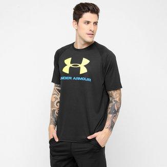 e8879b1ca93 Camiseta Under Armour Tech Sportstyle Logo Masculina