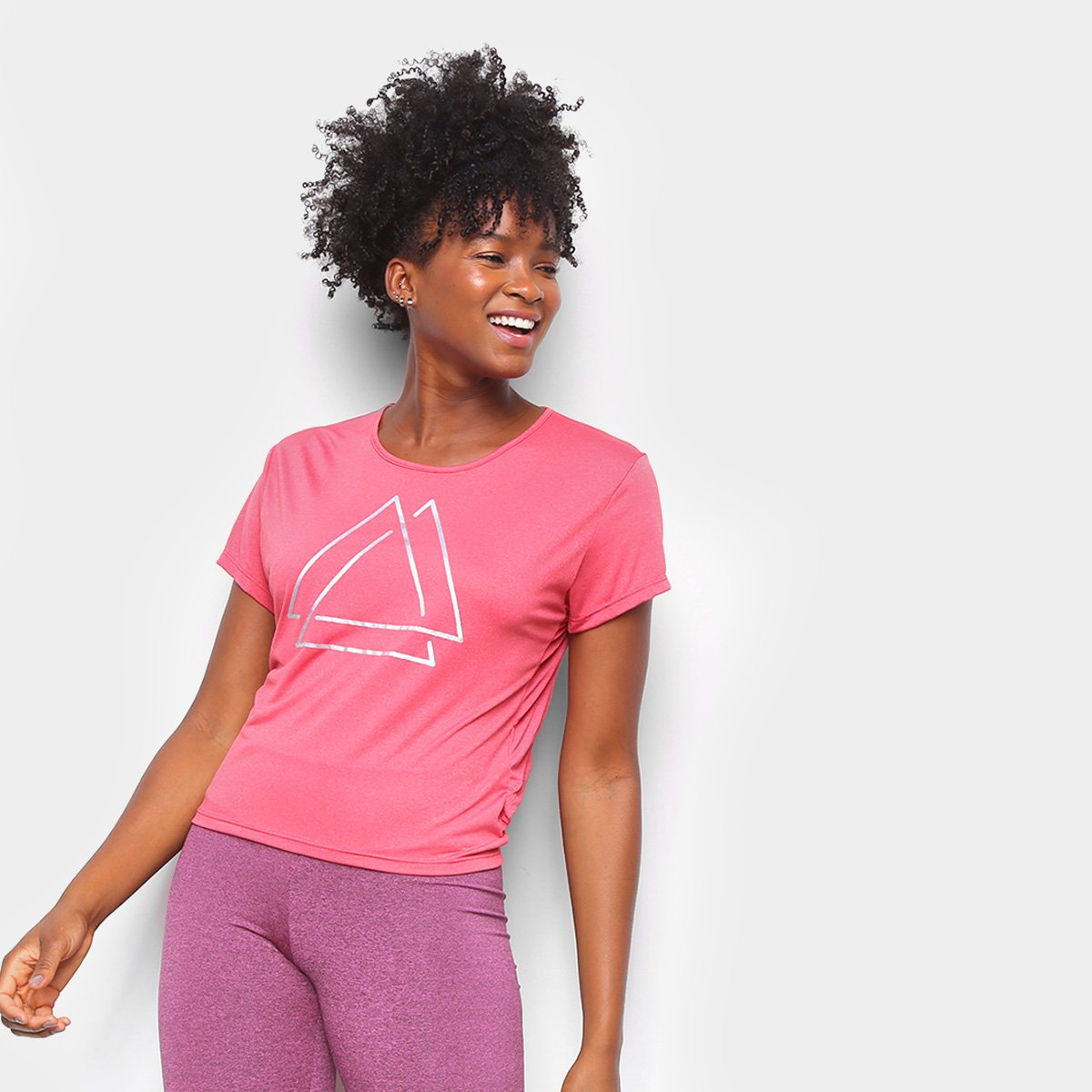 Camiseta Área Sports Bump I Feminina