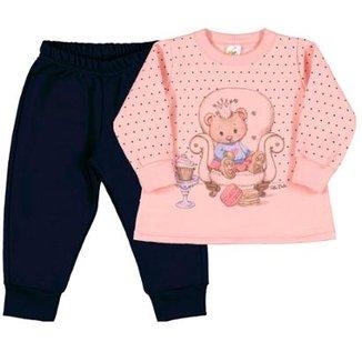 Compre Agasalho Infantil Moleton Online  191fa540d83f1