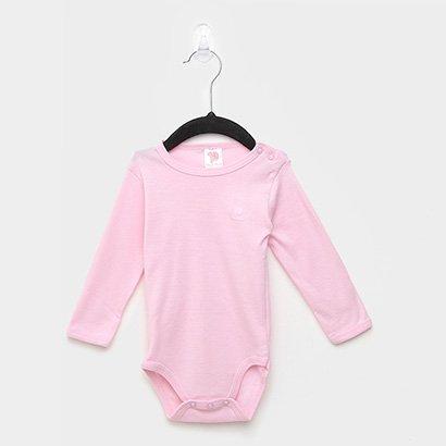 Body Infantil Pulla Bulla Manga Longa Bebê