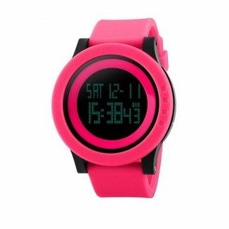 10c15632b92 Relógios - Smartwatches Skmei Feminino Rosa - Monitoramento ...