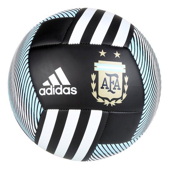 1f8ce8b3bb Bola Futebol Campo Argentina Adidas Telstar 18 Copa do Mundo Replique Fifa  - Preto+Azul