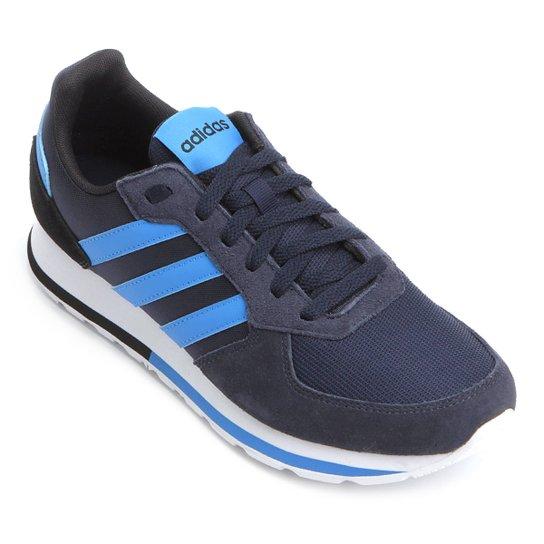 48552e0b47 Tênis Adidas 8K Masculino - Preto e Azul - Compre Agora