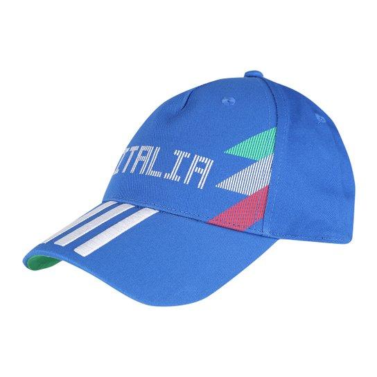 Boné Adidas Itália 3 Stripes Aba Curva - Compre Agora  6f4ea526c81