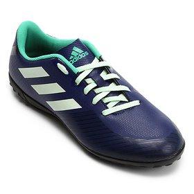 ccb09af4e5 Chuteira De Society Adidas Artilheira 17 Tf - Azul Prata - 38