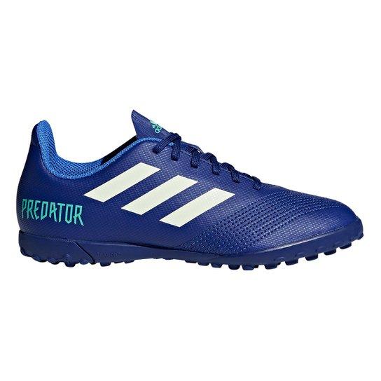 Chuteira Society Infantil Adidas Predator 18.4 TF - Compre Agora ... 531aee2659727
