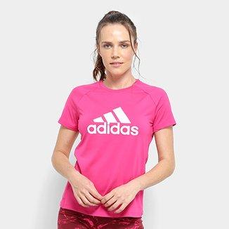 Compre Camiseta Adidas Feminina Online  0d79db71a1272