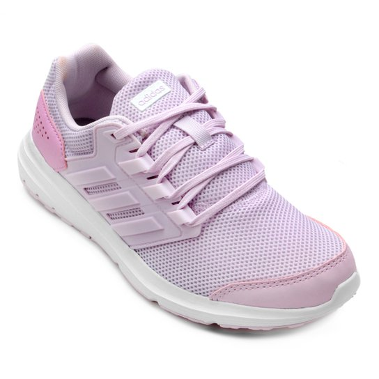 buy popular d4e00 70670 Tênis Adidas Galaxy 4 Feminino - Rosa
