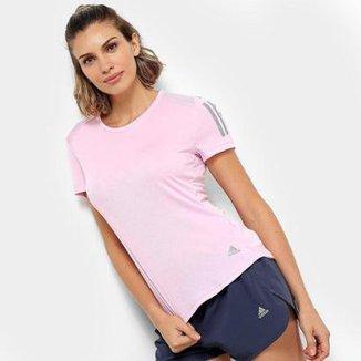 Camisetas Adidas Femininas - Melhores Preços  1b223c89f4cc1