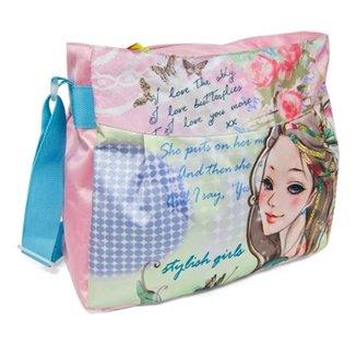 17654fc9450fa Bolsa Pasta Tote Bag LS Bolsas com alças tiracolo