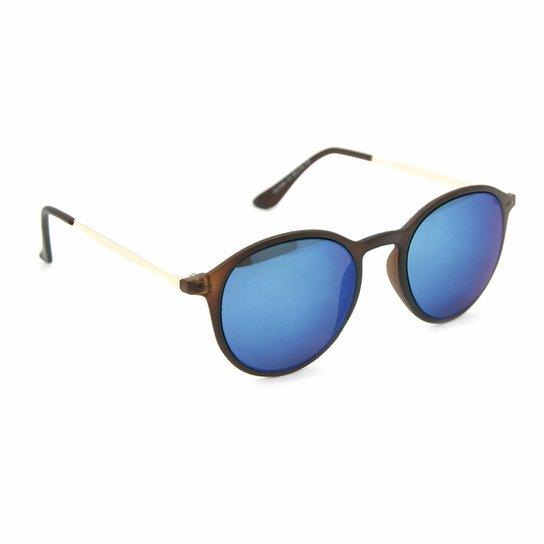 Óculos Bijoulux de Sol Redondo Espelhado - Compre Agora   Netshoes e0826c2726