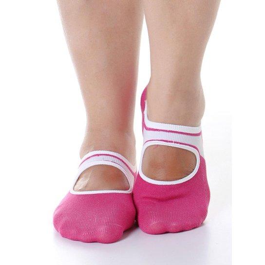 2b0833352 Sapatilha Meia para Pilates Feminina - Compre Agora