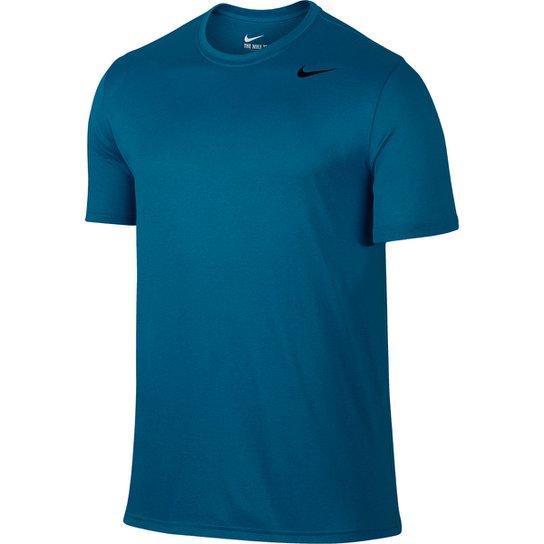 243ec454d6 Camiseta Nike Legend 2.0 Ss Masculina - Azul Petróleo e Preto ...