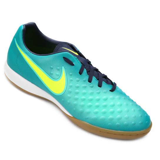 5022962d96 Chuteira Futsal Nike Magista Onda II IC - Azul e Verde - Compre ...