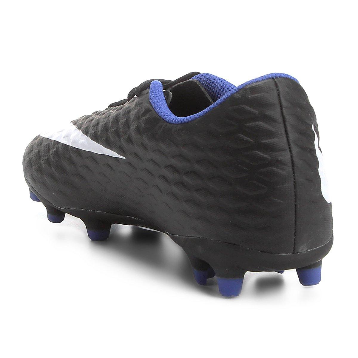 05331bf94c Chuteira Campo Nike Hypervenom Phade 3 FG - Tam  38 - Shopping TudoAzul