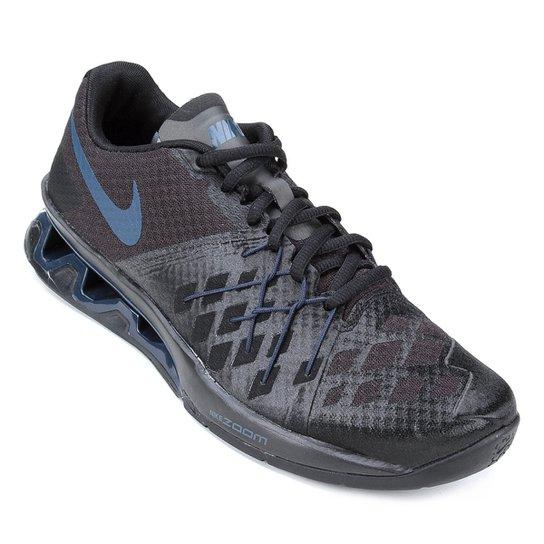 9e9e2bd6006 Tênis Nike Reax Lightspeed 2 Masculino - Preto e Azul - Compre Agora ...