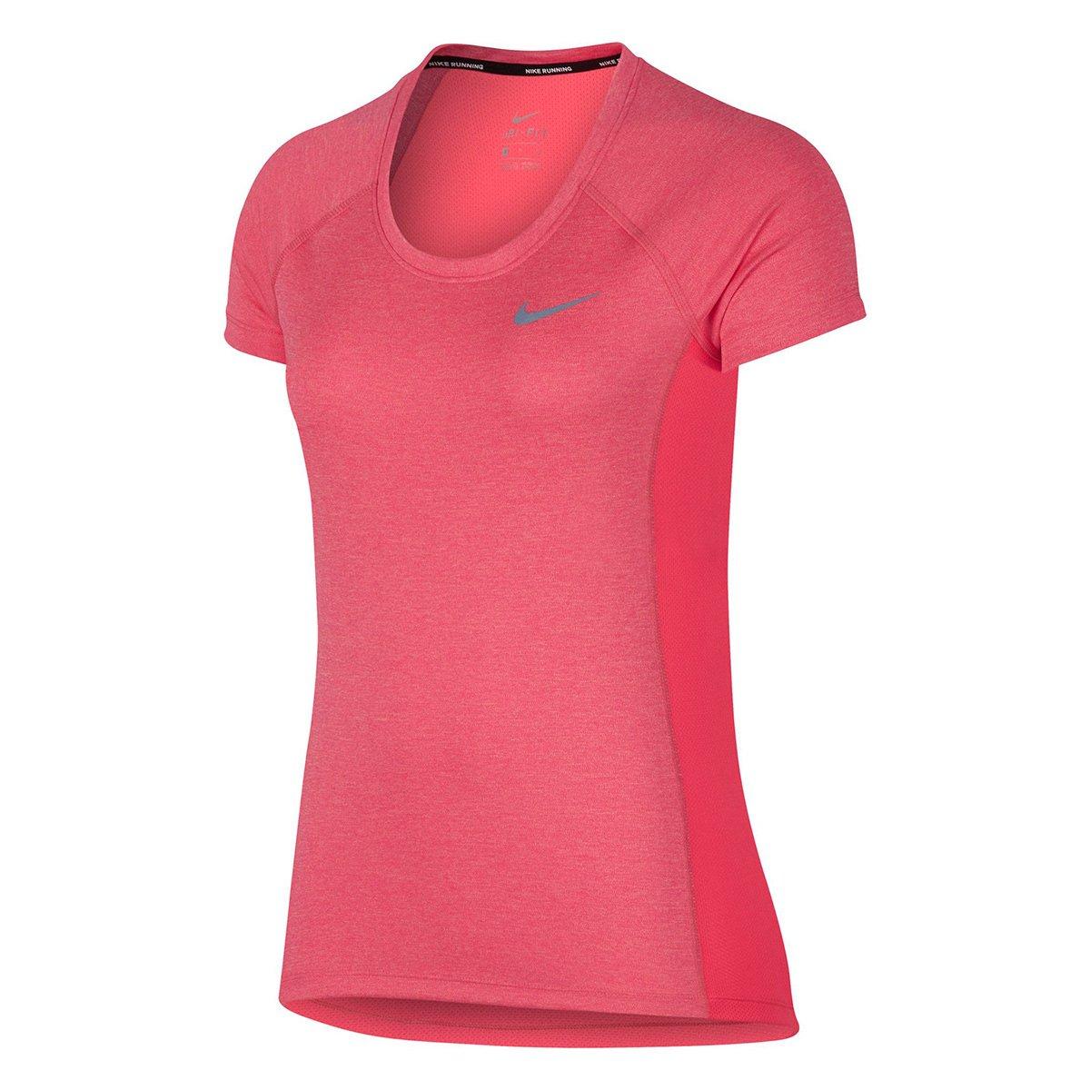 Camiseta Nike Dri-Fit Miler Top Crew Feminina  9519cc0383593