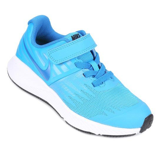 Tênis Infantil Nike Star Runner Feminino - Azul - Compre Agora ... 9755d271cfcc3