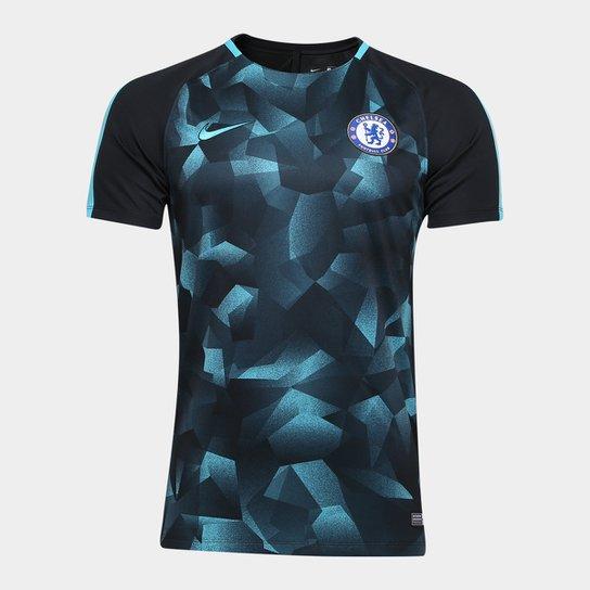 Camisa Chelsea Squad 17 18 s nº - Nike Masculina - Compre Agora ... 4ed96b5832758