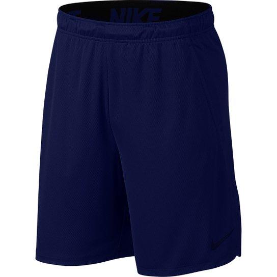 Bermuda Nike Dry 4.0 Masculina - Marinho e Preto - Compre Agora ... f87c2e5d54dbc