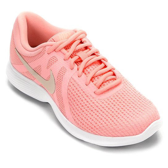 56b0eed4c29f5 Tênis Nike Wmns Revolution 4 Feminino - Rosa - Compre Agora