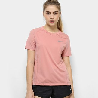 Compre Camiseta Nike Rosa Online  ff700aac7561d