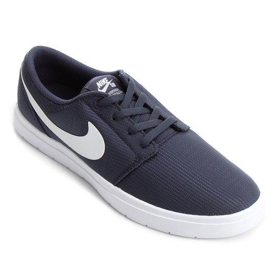 Tênis Nike SB Portmore II Ultralight Masculino - Preto e Azul ... 55c1d768fc485