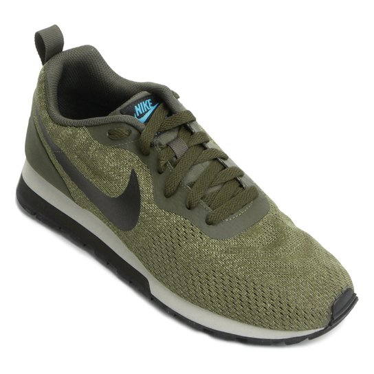 e15d7855e7e Tênis Nike Md Runner 2 Eng Mesh Masculino - Verde Militar - Compre ...